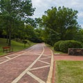 Road through the park.- Hot Springs National Park