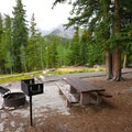 Scenic views abound at the campground.- Wheeler Campground