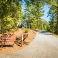 Entering Keowee Toxaway State Park.- Keowee Toxaway State Park