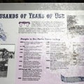 A timeline for Pahreah.- Pahreah Ghost Town Day Use Area