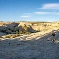 Beautiful slickrock hiking.- Death Hollow Backpacking Loop