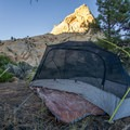 Camp on the Boulder Mail Trail.- Death Hollow Backpacking Loop