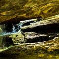 Under the Natural Bridge.- Natural Bridge Trail
