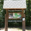 Island Loop Trail sign.- Pickwick Landing State Park