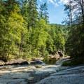 Eastotoe Creek.- Long Shoals Roadside Park