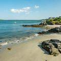 Private beaches just south of Fisherman's Point.- Willard Beach