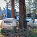 Basecamp Tahoe South is walking distance from Lake Tahoe beaches, ski resorts and casino nightlife.- Basecamp Tahoe South