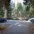 The parking area at the Bayview Trailhead is small and fills up quickly. Hikers may have to park along Highway 89 and walk to the trailhead.- Maggie's Peak