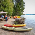 Kayak Tahoe offers rentals for those who don't want to haul their kayak or paddleboard down.- Emerald Bay Paddle
