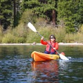 Emerald Bay provides a generally calm and incredibly scenic spot for paddlers.- Emerald Bay Paddle