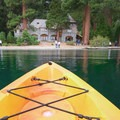 Kayaking near Vikingsholm gives a perspective that few others get.- Emerald Bay Paddle