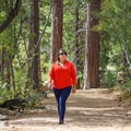 Hiking the Rubicon Trail to Emerald Point.- Emerald Point