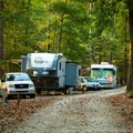 The campground is popular and often booked during the week.- Croft State Park Campground