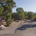 Typical site in Natural Bridges Campground.- Natural Bridges Campground