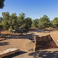 Campground within the park- Natural Bridges National Monument