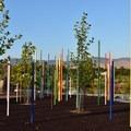 Simplot Park playground.- Quinn's Pond and Simplot Ponds