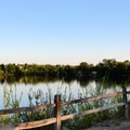 Quinn's Pond.- Quinn's Pond and Simplot Ponds