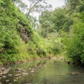 The second Kaukonahua Stream crossing.- Wahiawa Hills