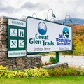 Entrance to Great Glen Trails. - Great Glen Trails Outdoor Center