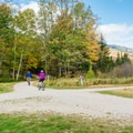 Bikers on the Great Glen Trails.- Great Glen Trails Outdoor Center