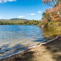 May Pond boat launch.- Pillsbury State Park