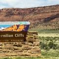 Entering the Verimillion Cliffs National Monument.- White Pocket