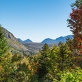 View from the Zealand Falls Hut.- Zealand Falls