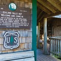 Zealand Falls Hut offers baked goods and lodging.- Zealand Falls