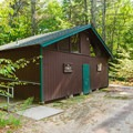 Campground facilities. - Bear Brook State Park