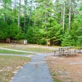 Archery range at Bear Brook State Park. - Bear Brook State Park
