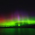 Aurora over Horse Lake.- Mining Endangers Minnesota's Boundary Waters