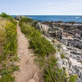 Views from the Cliff Walk.- Cliff Walk