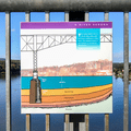 Illustration of the bridge's foundation.- Walkway Over The Hudson