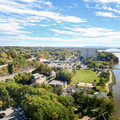 Looking south over Poughkeepsie.- Walkway Over The Hudson