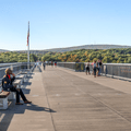 Returning to the mid-point.- Walkway Over The Hudson