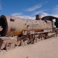 Great Train Graveyard in Uyuni, Bolivia.- Solar de Uyuni: Incahuasi Island + Train Cemetery