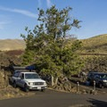 Lava Flow Campground.- Lava Flow Campground