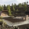 Lava Flow amphitheater.- Lava Flow Campground