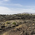 Hiking near the lava flow.- Broken Top Loop Hike