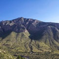Views from the initial ascent.- Guadalupe Peak Trail