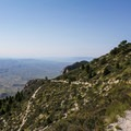 The second vertical pitch is on the far side of the first mountain.- Guadalupe Peak Trail