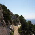 Head back down the way you came.- Guadalupe Peak Trail