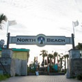 Public access to North Beach.- Tybee North Beach + Lighthouse
