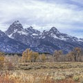 Beautiful views of the Tetons from Menor's Homestead.- Menor's Ferry Historic District