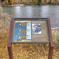 An explanation of the ferry operation.- Menor's Ferry Historic District