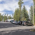 The parking lot closest to the trailhead- Signal Mountain Trail