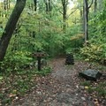 The path to the campsite.- Kentuck Campgrounds