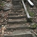 Some other stairs.- Cucumber Falls