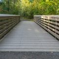 One of two bridges.- Cooper Mountain Nature Park