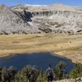Lower Gaylor Lake.- Gaylor Lakes Basin